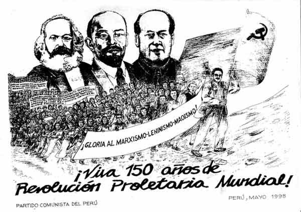 Partido Comunista del Perú - Sendero Luminoso 150aniversario